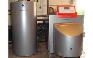 installation complète de chauffage