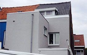 Façade extérieure maison