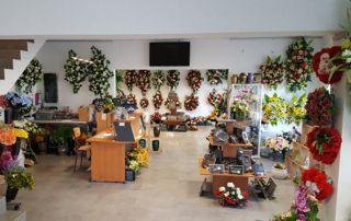 magasins de fleurs et articles funéraires