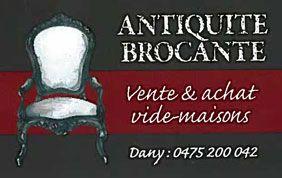 logo Daniel Counard vide maison à Namur