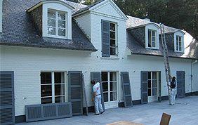 peinture extérieure : façade et volets