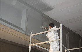 nettoyage et peinture en hauteur