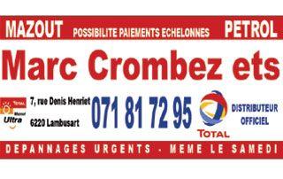 Logo de Crombez, livreur de combustible