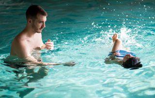 cours de natation enfant