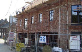 projet de construction à Wavre