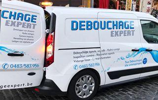 camionnette Débouchage Expert