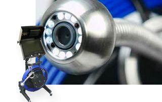caméra d'inspection d'égouts