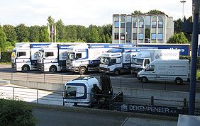 truck parking Dekempeneer