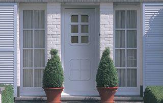 porte et porte-fenêtre assorties