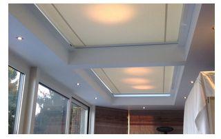 stores pour vitres de plafond