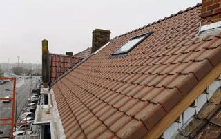 fenêtre Velux sur toit incliné