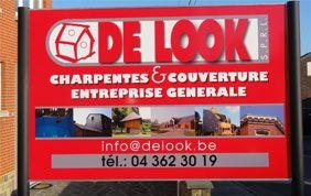panneau d'affichage De Look - Charpentes et Couvertures à Liège