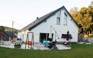 rénovation de maison avec jardin