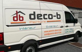 camionnette Deco-B Peinture