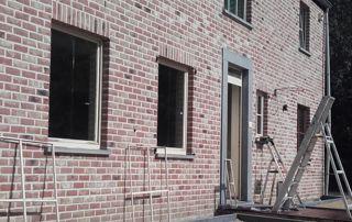 ravalement de façade en briques