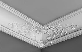 moulures decoratives plafond