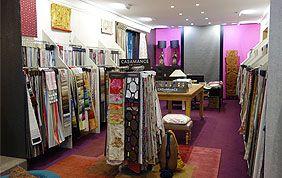 magasin de tissus pour habillage de fenêtre