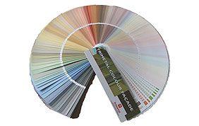 nuancier couleurs disponibles