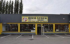 façade magasin Déco Stock à Liège
