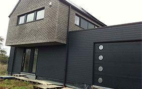 porte de garage, fenêtres et portes en aluminium