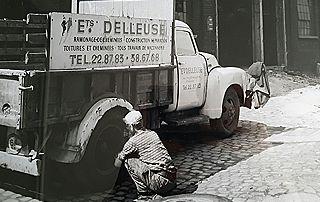 photo ancienne entreprise de toiture delleuse bastien