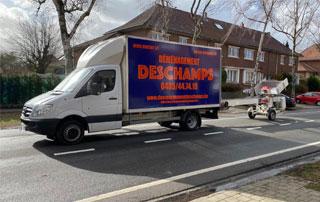 camion Deschamps Déménagement