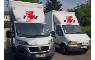 camionnettes de déménagement