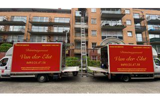 camions de déménagement Van der Elst à Bruxelles