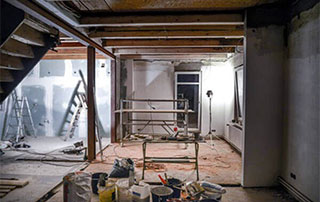Chantier de rénovation