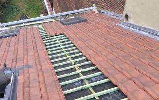 construction de toiture à Bruxelles