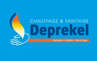 logo Deprekel chauffage et sanitaire