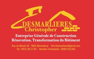 Logo Desmarlieres Entreprise générale de construction