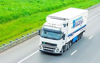 Camion de déménagement Deuxans