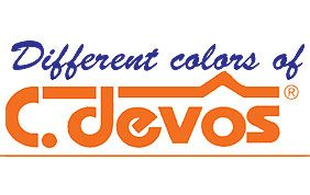logo Different colors of C. Devos