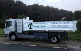 camion Didier Leslie jardinier
