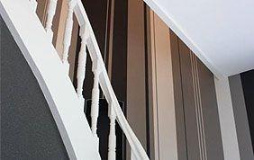 tapissage cage d'escalier