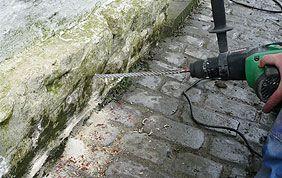 traitement contre l'humidité des murs extérieurs