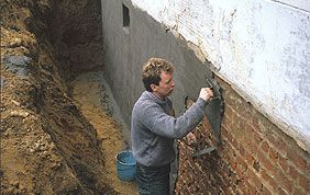 traitement des murs enterrés