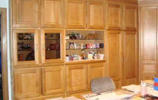Meubles de bureau en bois