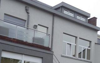 peinture de façade de couleur grise