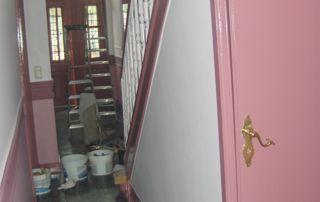Travaux de peinture couloir