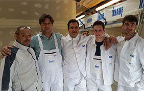 équipe d'ouvriers Ecobiobat