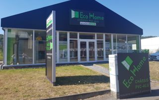 showroom Ecohome Menuiserie