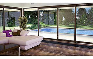 baies vitrées coulissantes