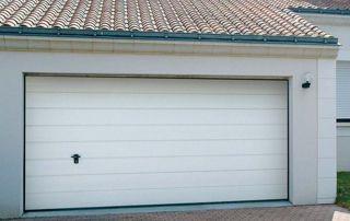 porte de garage enroulable pvc blanc