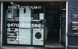 Magasin Electro Plan-It à Bouge