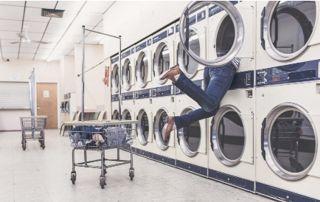 lave-linge en exposition