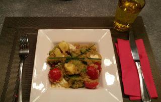 recette saine de quinoa