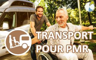 transport de personnes à mobilité réduite