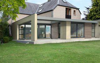 extension maison après